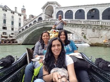 Mochileras en Venezia